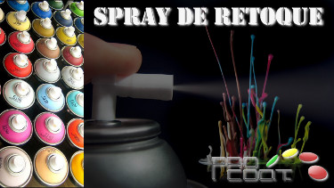 Spray de retoque